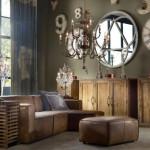 K vintage patří masivní dřevo.
