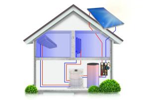 """""""Hlavní výhoda absorpčního zařízení spočívá v tom, že má na rozdíl od konvenčníhochladicího zařízení nižší spotřebu elektrické energie. Celý systém funguje vsymbióze,potřeba chladu a solární zisky jsou vpřímé úměře. Potřeba chlazení přichází vdobě, kdymáme výrazné přebytky tepla ze solárního systému. Jedná se tak o dokonalou souhrudvou faktorů, které se navzájem doplňují,"""" vysvětluje technický ředitel Meibes JosefPouba."""
