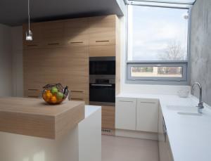 Kuchyňská pracovní deska z corianu. Kuchyně Le Bon.