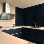 Kuchyňská pracovní deska z mramoru.