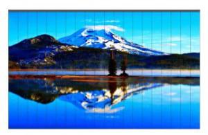 Na vertikální žaluzie je možné natisknou fotografii.  Navodíte tak  příjemnou atmosféru.