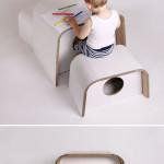 Dětský stoleček a židličky, design Michaela Horáčková, Unlimited design