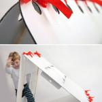 Kartonový domeček, design Michaela Horáčková, Unlimited design