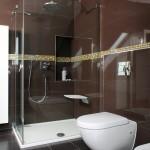 Manželé se rozhodli jen pro sprchový kout.