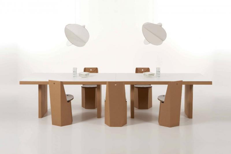Stůl Atlante, rozměr 140 x 85 x 77 cm