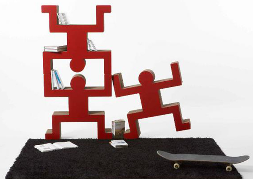 Stojany Spanky z laminované kartonové lepenky, rozměr 50 x 50 x 14 cm nebo 70 x 70 x 21 cm
