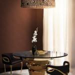 Odstín zlata vnáší do interiéru pocit luxusu