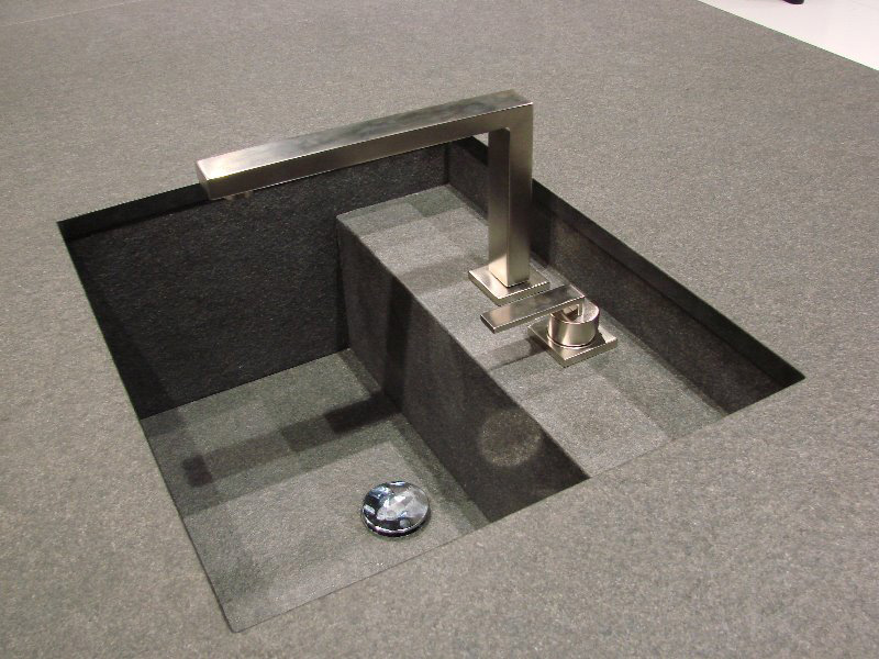 Dřez vyrobený ze žuly nero assoluto patina,Granit Holec.