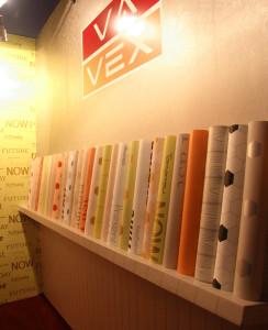 Vavex nabízí širokou škálu tapet