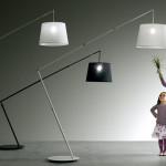 Stojací lampa Fly, Karman