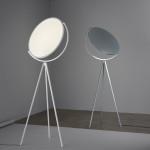 Stojací lampa Superloon, design J. Morrison, Flos
