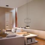Stropní svítidlo Wireflow, design Arik Levy, Vibia. Prodává Hagos.