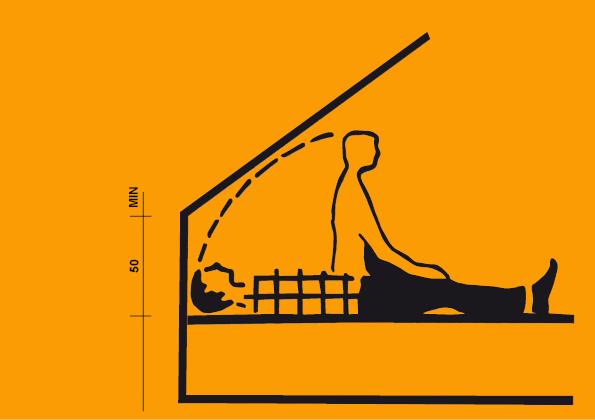 V podkroví nezapomeňte na pohodlné a bezbolestné vstávání.