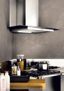 Svislá vzdálenost mezi digestoří a varnou desku by měla být v rozmezí 65 - 75 cm.