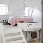 V některých rozlehlých prostorách se vyplatí místnost rozdělit výškově.