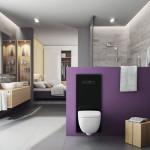 Toaletu TECElux můžete výškově nastavit aniž byste museli bourat.