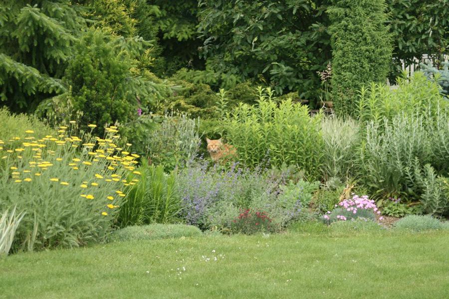 Zahrada musí harmonicky zapadat do okolního krajinného rámce.