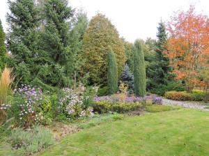 Vybírejte rostlinné druhy, které svými rozměry odpovídají celkovému řešení zahrady a svým charakterem se do zahrady a okolí hodí.