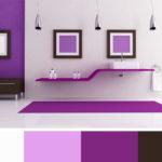 Tento odstín fialové místnost rozzáří. Vhodný ale zvláště do ženských interiérů.