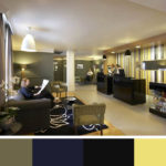 Tmavší odstíny jsou vhodné do velkých místností a spíš do veřejných prostor, kde se neočekává, že bude trávit výrazně dlouho.