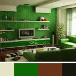 Zelená působí uklidňujícím dojmem. Nepřežeňte to.
