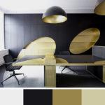 Kombinace černá-zlatá patří k evergreenům. Rozhodně jí nic nezkazíte a získáte noblesní atmosféru.