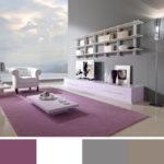 Šedá v kombinaci s jemným fialovým odstínem je spíš ženská volba.