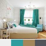 Jemné odstíny doplněné jednou výraznou barvou, kterou můžete snadno změnit.