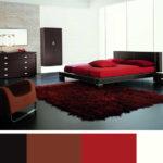 Toto tmavší provedení doplněné červenou je vhodné do velkých místností.