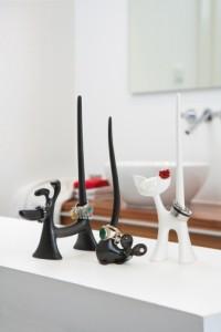 Dekorativní stojánky používejte na odkládání bižuterie