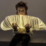 Stolní lampa Lichtpapier