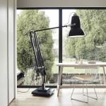 Stojací lampa Giant Brass Slate, Anglepoise