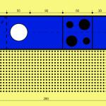 Ideální rozměry kuchyně naplánované do jedné roviny