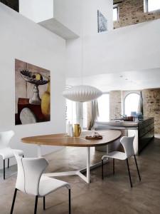 Bílé židle doporučujeme do domácností, kde děti už odrostly