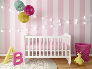 V dětském pokoji jistě oceníte omyvatelné barvy