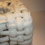 Detail pleteného opěradla