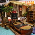 Ukázka pirátského dětského pokoje