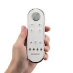 Všechny funkce můžete jednoduše ovládat pomocí dálkového ovladače.