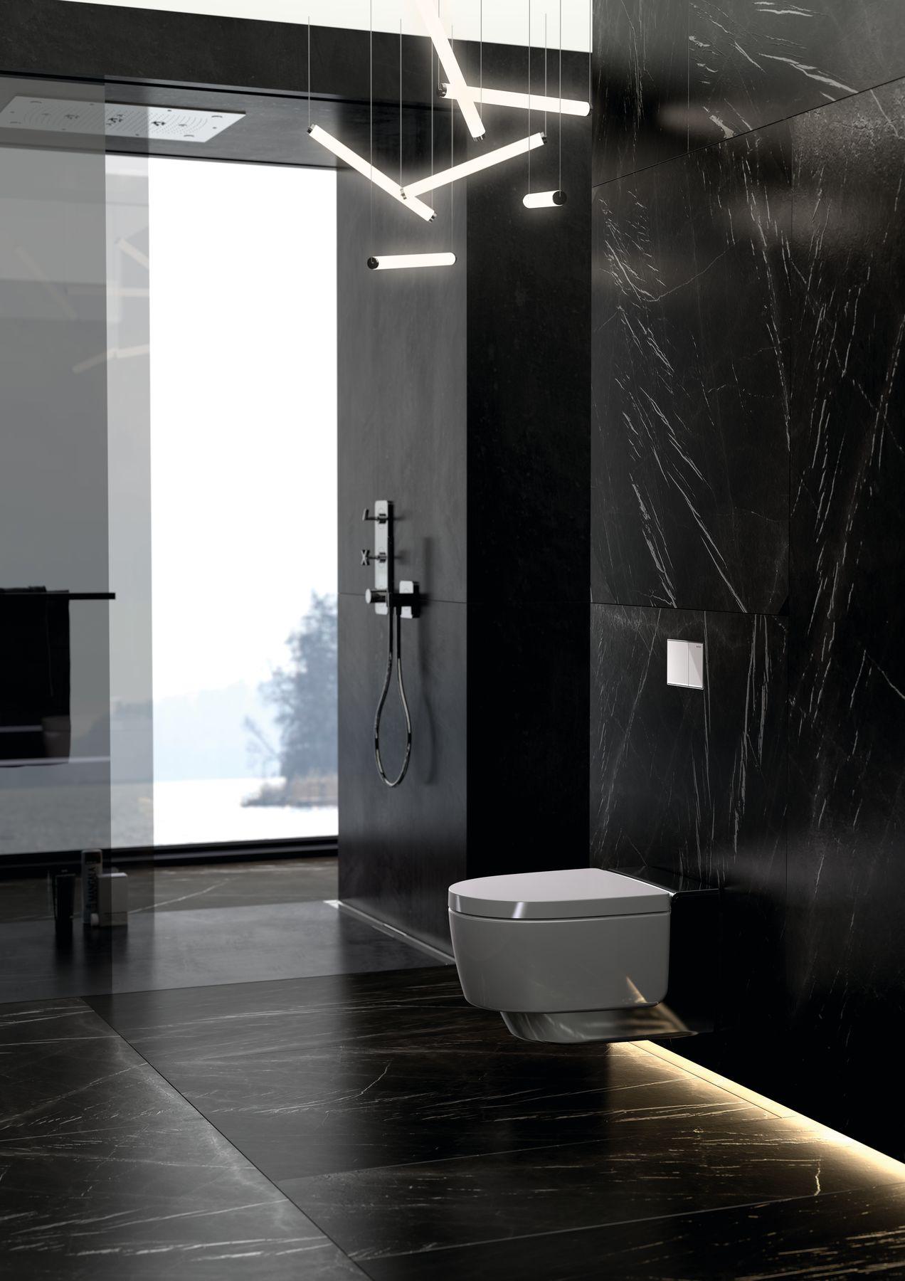 nov toaleta s integrovanou sprchou geberit aquaclean mera homeincube. Black Bedroom Furniture Sets. Home Design Ideas