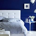 Modrá barva má zklidňujíc vlastnosti. Její přemíra ale může potlačovat tvorbu melatoninu.