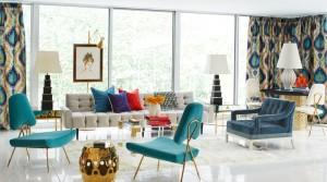Použijte v interiéru několik typů sezení.