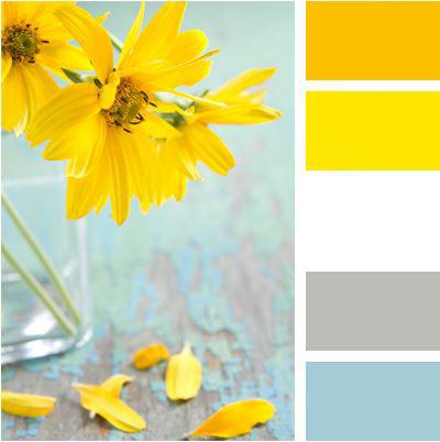 Světlá slunná paleta barev kombinující teplé a studené odstíny. Působí velmi svěže, přirozeně a harmonicky. I chladná rána ve vaší kuchyni budou zalita sluncem.