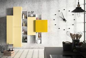 Žlutá může být použita v interiéru i v několika odstínech