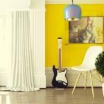 Pozor na přemíru žluté v malých místnostech.
