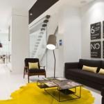 Hodně udělá i žlutý koberec