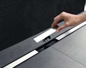 Sprchové kanálky Geberit CleanLine je možné rychle a snadno vyčistit.