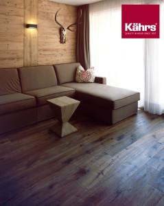 Dřevo se stále častěji aplikuje i na stěny.