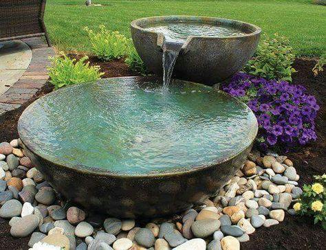Jezírka jsou půvabná i bez vodních rostlin