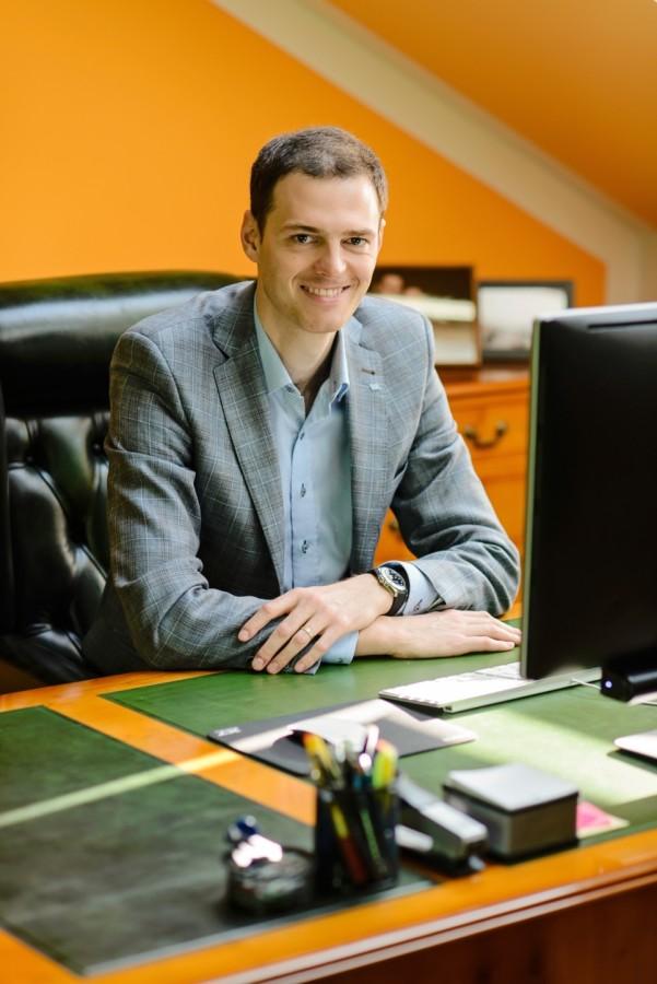 Ondřej Wachal, zástupce generálního ředitele ve stavební firmě VW WACHAL