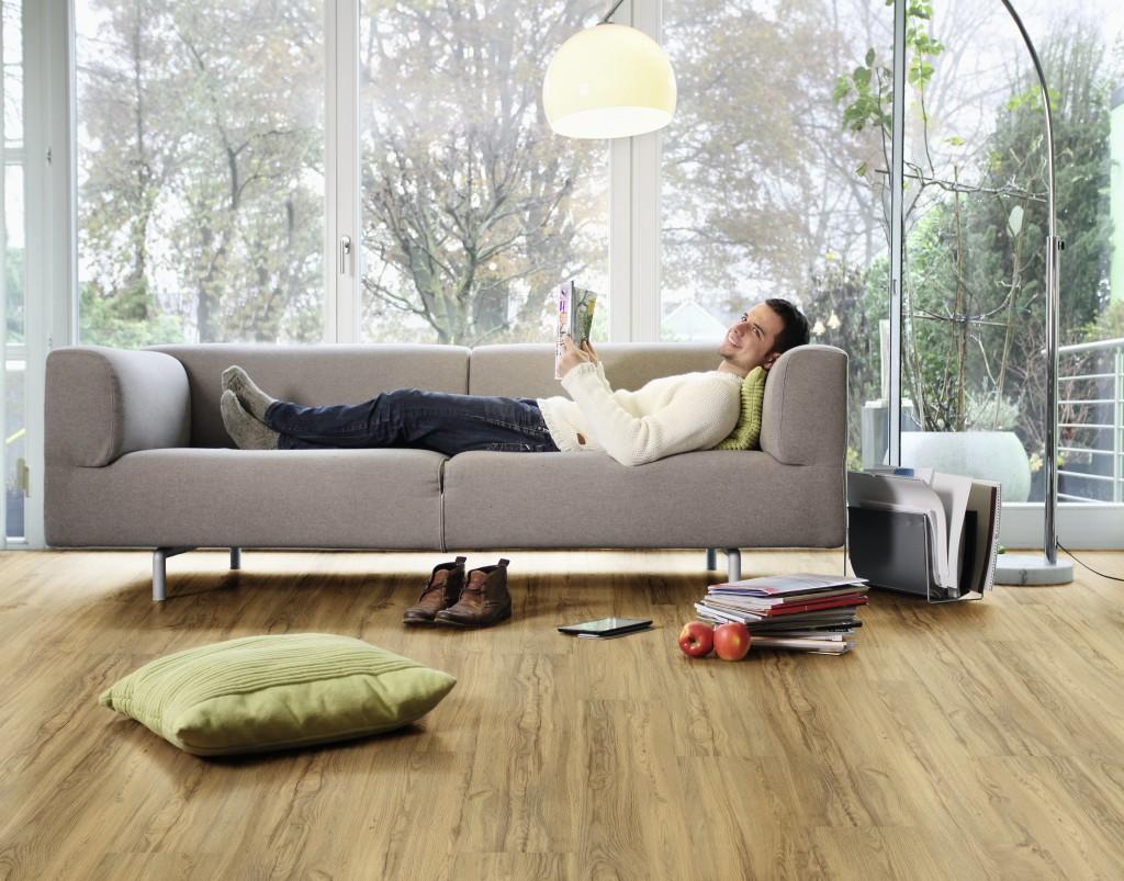 Ekologická elastická podlaha Wineo Purline 1000